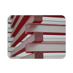 Red Sunglasses Art Abstract Double Sided Flano Blanket (Mini)