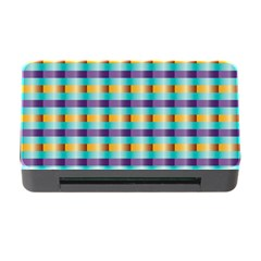 Pattern Grid Squares Texture Memory Card Reader with CF