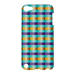 Pattern Grid Squares Texture Apple iPod Touch 5 Hardshell Case
