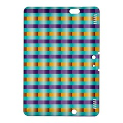 Pattern Grid Squares Texture Kindle Fire HDX 8.9  Hardshell Case