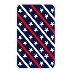 Patriotic Red White Blue Stars Memory Card Reader
