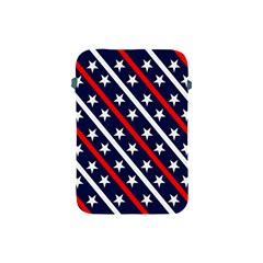 Patriotic Red White Blue Stars Apple iPad Mini Protective Soft Cases