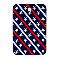 Patriotic Red White Blue Stars Samsung Galaxy Note 8 0 N5100 Hardshell Case