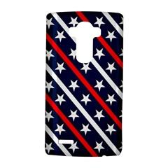 Patriotic Red White Blue Stars Lg G4 Hardshell Case