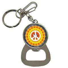 Peace Art Artwork Love Dove Button Necklaces