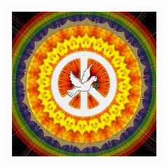Peace Art Artwork Love Dove Medium Glasses Cloth