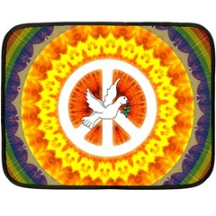 Peace Art Artwork Love Dove Fleece Blanket (Mini)