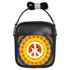 Peace Art Artwork Love Dove Girls Sling Bags