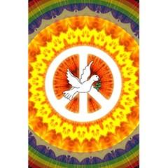 Peace Art Artwork Love Dove 5 5  X 8 5  Notebooks