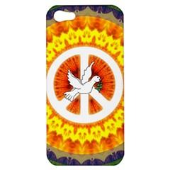 Peace Art Artwork Love Dove Apple iPhone 5 Hardshell Case