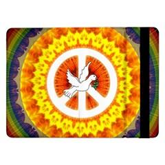 Peace Art Artwork Love Dove Samsung Galaxy Tab Pro 12 2  Flip Case