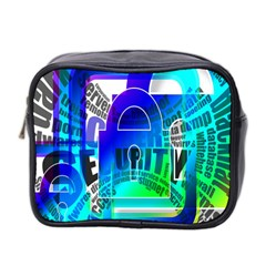 Security Castle Sure Padlock Mini Toiletries Bag 2-Side