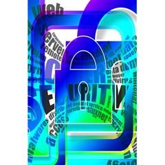 Security Castle Sure Padlock 5.5  x 8.5  Notebooks