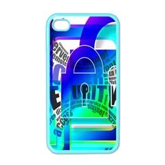 Security Castle Sure Padlock Apple iPhone 4 Case (Color)
