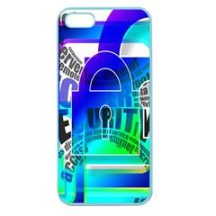 Security Castle Sure Padlock Apple Seamless Iphone 5 Case (color)