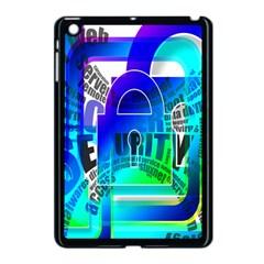 Security Castle Sure Padlock Apple Ipad Mini Case (black)