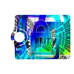 Security Castle Sure Padlock Kindle Fire HD (2013) Flip 360 Case