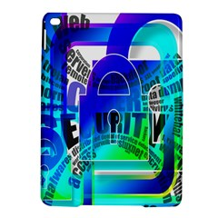 Security Castle Sure Padlock Ipad Air 2 Hardshell Cases