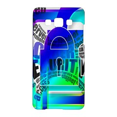 Security Castle Sure Padlock Samsung Galaxy A5 Hardshell Case