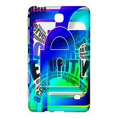 Security Castle Sure Padlock Samsung Galaxy Tab 4 (8 ) Hardshell Case