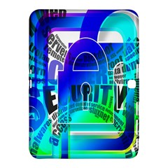 Security Castle Sure Padlock Samsung Galaxy Tab 4 (10 1 ) Hardshell Case