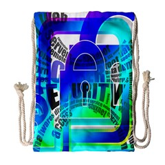 Security Castle Sure Padlock Drawstring Bag (Large)