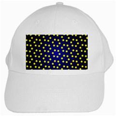 Star Christmas Yellow White Cap