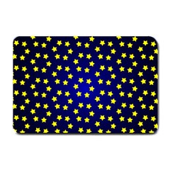 Star Christmas Yellow Small Doormat