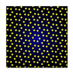 Star Christmas Yellow Face Towel
