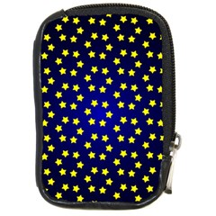 Star Christmas Yellow Compact Camera Cases
