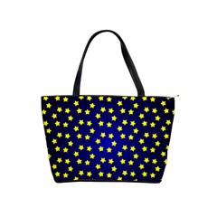 Star Christmas Yellow Shoulder Handbags