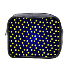 Star Christmas Yellow Mini Toiletries Bag 2-Side