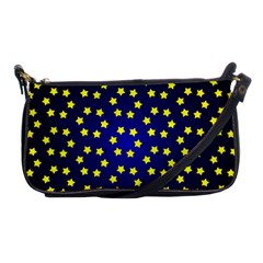 Star Christmas Yellow Shoulder Clutch Bags