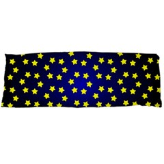 Star Christmas Yellow Body Pillow Case Dakimakura (Two Sides)