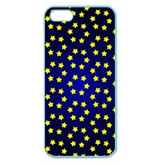 Star Christmas Yellow Apple Seamless iPhone 5 Case (Color)