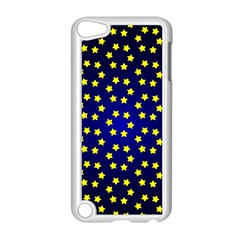 Star Christmas Yellow Apple iPod Touch 5 Case (White)