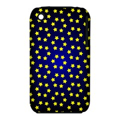Star Christmas Yellow iPhone 3S/3GS