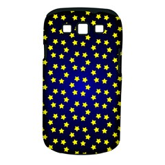 Star Christmas Yellow Samsung Galaxy S III Classic Hardshell Case (PC+Silicone)