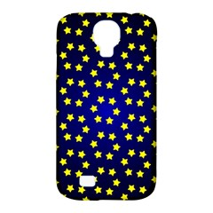 Star Christmas Yellow Samsung Galaxy S4 Classic Hardshell Case (PC+Silicone)