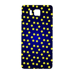 Star Christmas Yellow Samsung Galaxy Alpha Hardshell Back Case