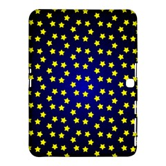 Star Christmas Yellow Samsung Galaxy Tab 4 (10.1 ) Hardshell Case