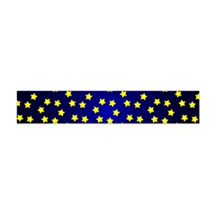 Star Christmas Yellow Flano Scarf (mini)