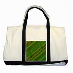 Stripes Course Texture Background Two Tone Tote Bag