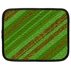 Stripes Course Texture Background Netbook Case (XL)