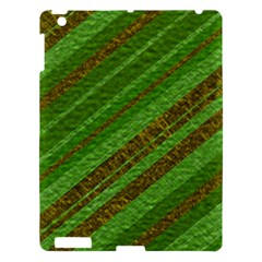 Stripes Course Texture Background Apple iPad 3/4 Hardshell Case