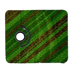Stripes Course Texture Background Galaxy S3 (Flip/Folio)