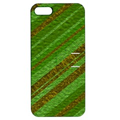 Stripes Course Texture Background Apple Iphone 5 Hardshell Case With Stand