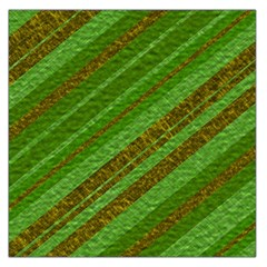 Stripes Course Texture Background Large Satin Scarf (Square)
