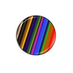 Strip Colorful Pipes Books Color Hat Clip Ball Marker (10 pack)
