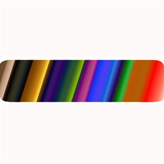 Strip Colorful Pipes Books Color Large Bar Mats